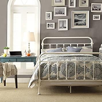Dormitorio Vintage Sencillo y blanco