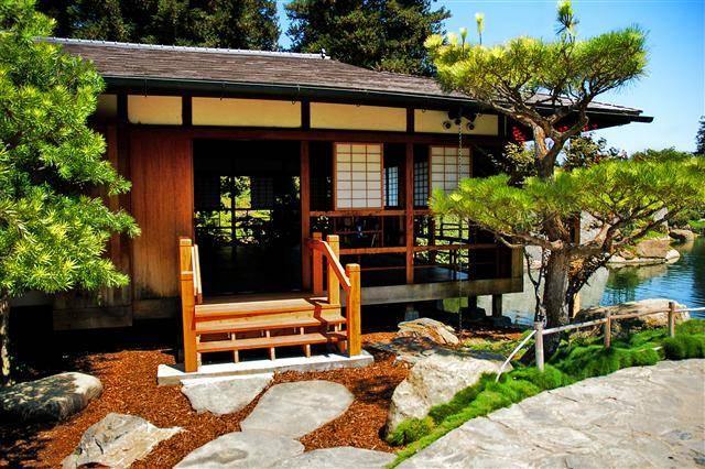 Cabaña Tradicional Japonesa