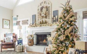 Árboles Rústicos de Navidad