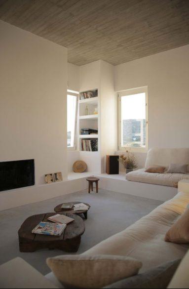 casa mediterránea de 2 pisos moderna