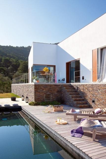 casas de campo rústicas moderna