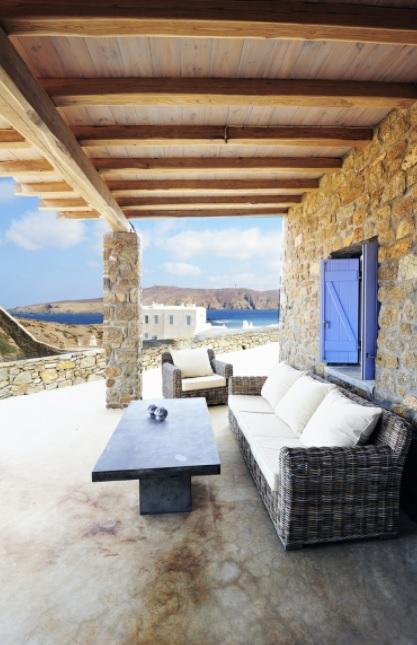 Casas estilo mediterráneo griego y tradicional