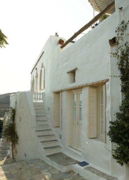 Tradición y lujo de la mano en esta casa mediterránea y griega