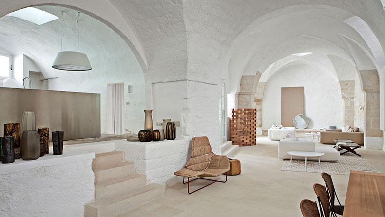 Casa mediterránea de un piso antigua