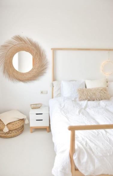 Las fibras naturales también van en tu pared