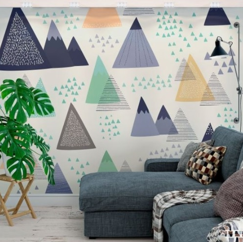 Vinilos con una hermosa temática nórdica para la pared