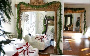 Decorar un Espejo en Navidad