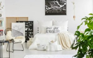 Dormitorio juvenil estilo nórdico