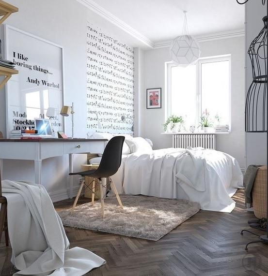 Dormitorio juvenil estilo nórdico y personalizado