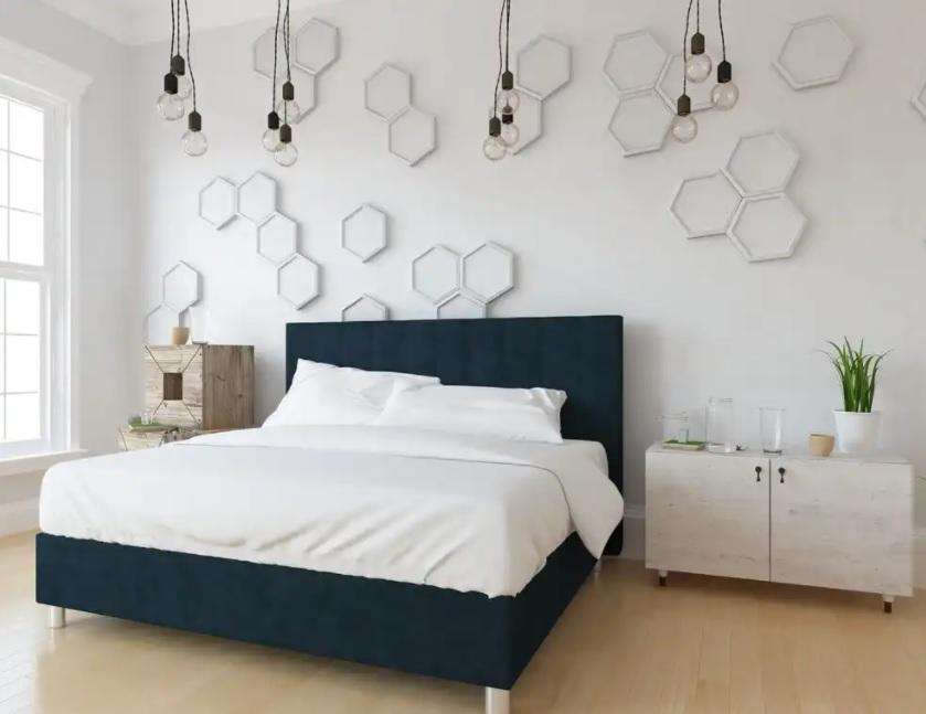 Dormitorio juvenil estilo nórdico con un elemento industrial