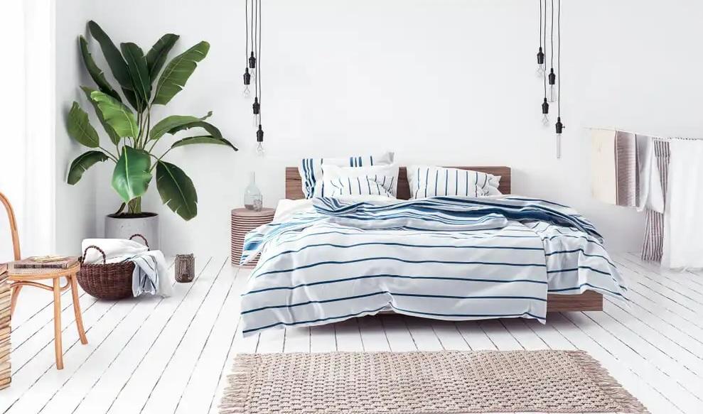 Dormitorio juvenil estilo nórdico y practico