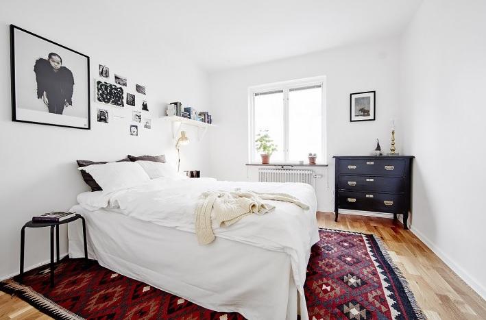 Habitación juvenil estilo nórdica, perfecto para añadir tus gustos