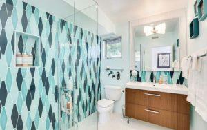 baños vintage modernos pequeños