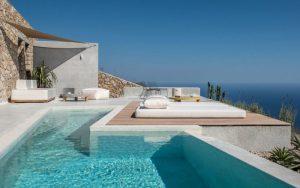 casa mediterránea y griega