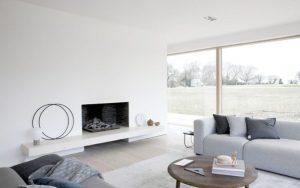 casas de campo minimalistas