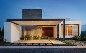 casas mediterráneas de un piso