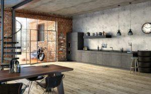 cocinas con decoracion industrial