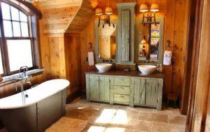 decoración de baños de campo