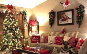 decorar apartamentos en navidad