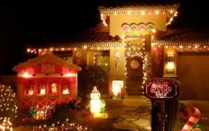 decorar tu fachada en Navidad