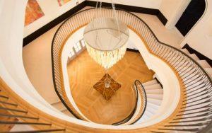 decorar un escalera de caracol