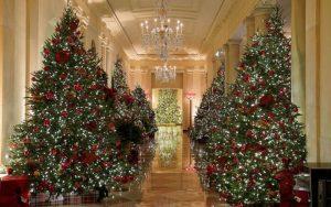 decorar un pasillo en navidad