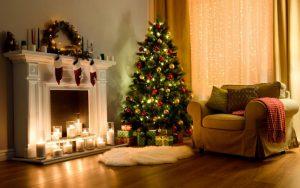 decorar un piso en navidad